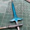 ダイの剣を作る(4) 塗装