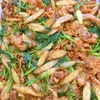 牛肉とごぼうの炒め物