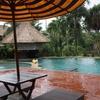 【2017子連れバリ島(6)】マラリバーサファリロッジ ホテルのプールと総評