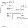 LCDキャラクターディスプレイ / Cで記述する