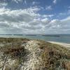九州自然歩道 65日目 吹上浜の波打ち際をどこまでも歩く 鹿児島県いちき串木野市串木野~日置市吹上町永吉 2020年11月23日