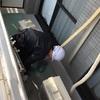 アパート防水工事で今日はトップコート塗布!