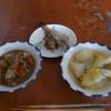 幸運な病のレシピ( 732 )朝 :イシモチ煮付け、塩焼き、白菜ロール'(鳥ムネパテ)