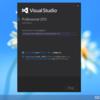 Visual Studio 2013 をさっそくインストールしてみたった。