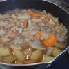 幸運な病のレシピ( 2147 )夜 :肉じゃが、モヤシ肉炒め