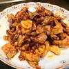 【1食160円】ピリ辛味噌味な牛モツ焼肉の簡単レシピ