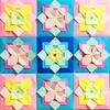 私の折り紙作品について & 模様折り紙の誘い