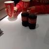 過冷却のコーラを飲んだ