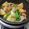 バーミキュラで「肉じゃが」を作ってみた。八角入れてほんのり中華風。