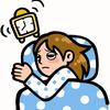 眠れない・・・