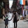 エルサレム壁を歩く