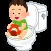 2歳4ヶ月にしてはじめてトイレに成功!ついでにおむつの子の検尿のこと
