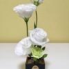 花瓶がない時のアイデア8種!剣山の代わりに〇〇〇で和風アレンジも。