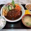 🚩外食日記(663)    宮崎ランチ   「お食事処 ちよ」⑩より、【ハンバーグ定食】‼️