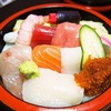 釧路寿司出前でも有名な釧路千歳鮨の生ちらし1200円