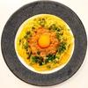 バターソースに絡まる‼︎簡単な納豆のパスタのレシピ