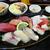 口に入りきらないほど大きいネタの特選にぎり寿司@日置市東市来町