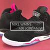 """発売中ナイキ ウィメンズ エア ジョーダン 5 """"ハイパー ピンク"""" (NIKE WMNS AIR JORDAN V """" Hyper Pink"""") [440892-029] Black/Deadly Pink-White"""