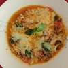<マルゲリータ風牛肉と玉葱のチーズトマト煮>あのピザのお味が煮物になって登場ですよ~(^^♪