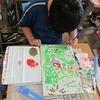 4年生:図工 コリントゲーム 彩色