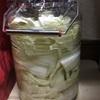 酸白菜を漬ける