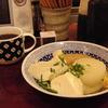 築地の「米花」で銀だら西京焼き、塩おでん。