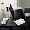【片付け実践】テーブルの上が片付かない。すぐにスッキリ片付く方法/パソコン縦置き