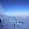 中央アルプス駒ケ岳は冬山です。