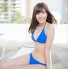 佐野ひなこ【B84 Fカップミラクルボディのふわふわおっぱい水着画像】(8)