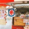 夏まつり♡ヤマト住建住まいのギャラリー高崎店イベントにヒーローズ登場♪シェイブドアイス