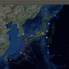 2017-05-31 地震の予測マップ (東進・西進を識別 過去の測定マップ)