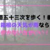 【東海道五十三次を歩く!番外編】箱根の天気が雨なら歩かない方がいい!