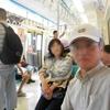 MRTで新北投へ向かう