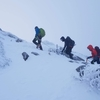 雪山のグローブ