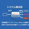 grpc-gatewayを使用したマイクロサービスの管理画面