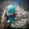 チャノマ玩具 / イシュマル[青成形(蓄光)]〈+Eng sub〉