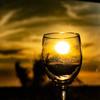 グラスの中の太陽