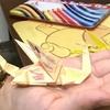 折り紙で、ドラゴンを作った