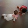 赤ちゃんを脱しつつある次男と赤ちゃんにかえる長男