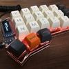 crkbd (コルネ DIY keyboard) をキースイッチスワップ仕様で組んだ