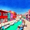 ヴァポレットでヴェネツィア本島周辺の島々を巡る