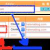 はてなのサブブログに独自サブドメインを設定する方法