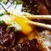 出前館で北海道元祖十勝豚丼専門店 豚福(とんぷく)の元祖十勝温玉豚丼、出前してみた