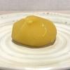 黄金色の栗あんころ餅