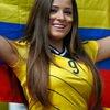ワールドカップ美女サポーター World cup hot female fans