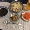 8/1 yuri 豚とキャベツの塩にんにく鍋