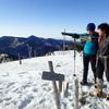 プライベートガイド@雪の八経ヶ岳