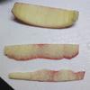 リンゴのくし切り 切りやすい皮の切り方についての気づき