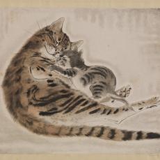 絵画【猫】