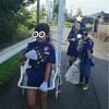 豊前市の清掃活動のボランティアに参加しました。